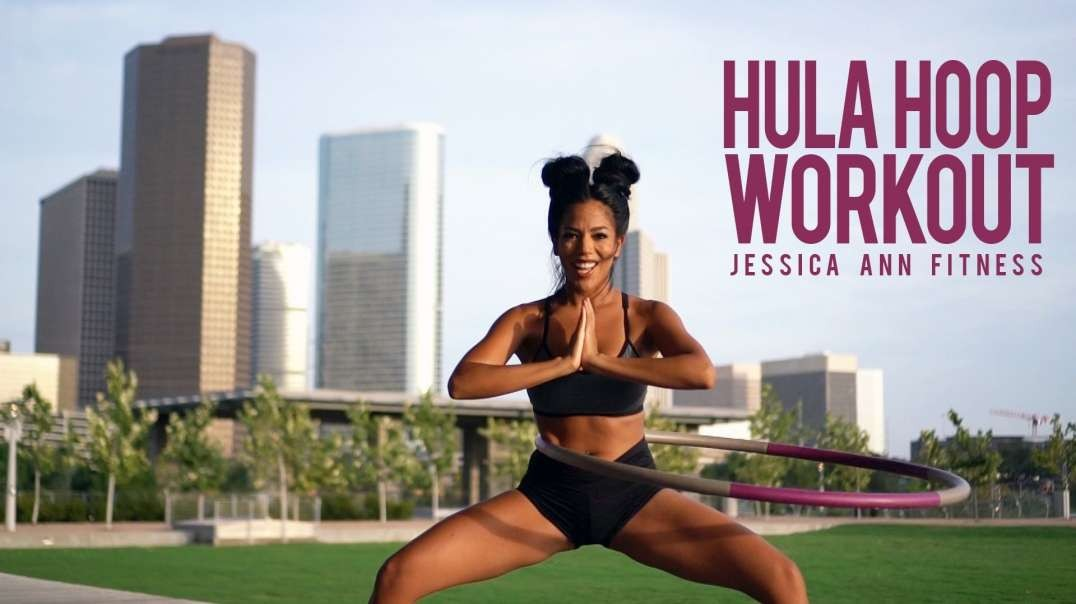 Hola Hoop Dance Workout by Jessica Ann [25 minute version]